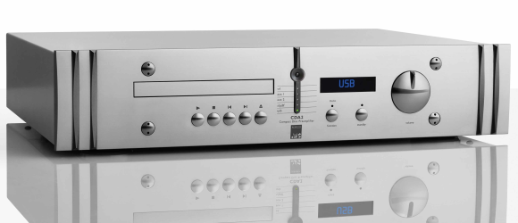 ATC CDA2 Mk2 stereo preamplifier + CD player + DAC hi-end
